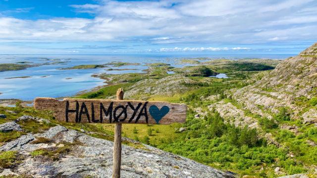 Bilde fra Halmøya i Flatanger